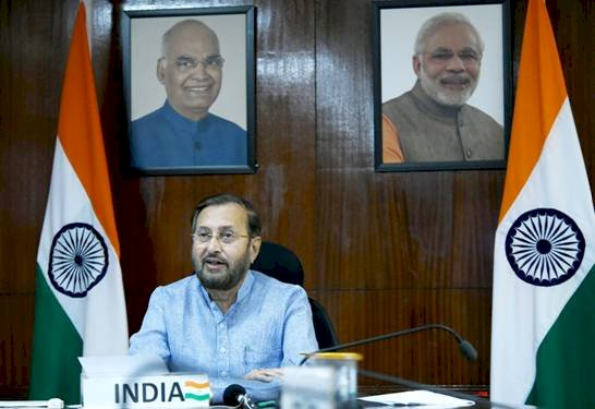 भारत जी-20 देशों के साथ बेहतर दुनिया के लिए काम करने के लिए प्रतिबद्ध है: प्रकाश जावडेकर
