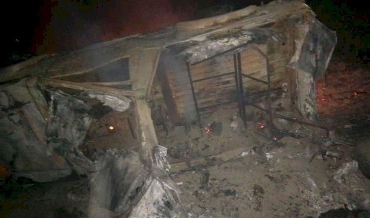 गंगानगर के पास युद्धाभ्यास के दौरान सेना की जिप्सी में लगी आग, 3 जवान की जलने से मौत, 5 जवानों की हालात गंभीर