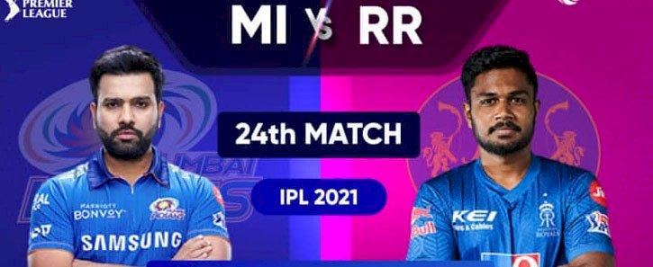 आईपीएल में मुंबई का मुकाबला राजस्थान से तो कोलकाता के सामने होगी दिल्ली
