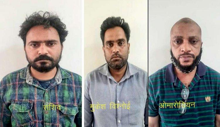 जालोर के नागरिक सहकारी बैंक से 86 लाख रूपए की ऑनलाइन ठगी मामले में चितलवाना का मुकेश विश्नोई सहित 3 आरोपी गिरफ्तार