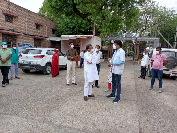 राजस्थान सरकार ने सिरोही जिला चिकित्सालय में ऑक्सिजन उत्पादन संयंत्र को लेकर स्वीकृत किए 1 करोड़ 73 लाख रूपए, विधायक लोढ़ा ने अस्पताल का किया निरीक्षण