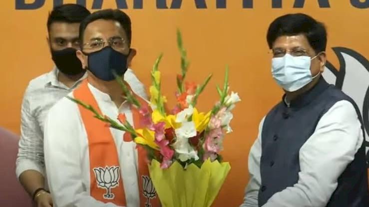 राहुल—प्रियंका के बेहद करीबी माने जाने वाले कांग्रेस नेता जितिन प्रसाद ने थामा भाजपा का दामन